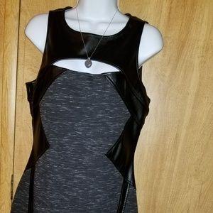 Bebe Polyester stretch body dress